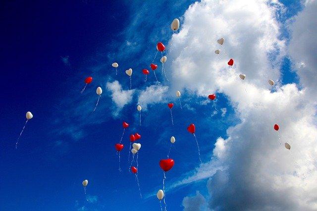 Balónky na nebi
