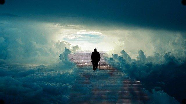 odchod do nebe