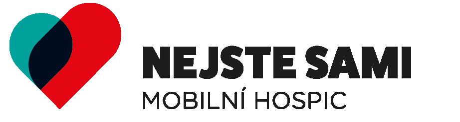 logo Nejste sami – mobilní hospic, z.ú.
